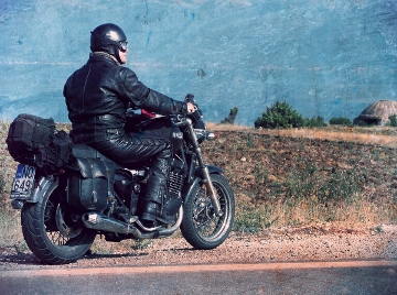 Motorcycling in Albania